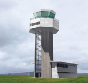 Airport Air Control Tower